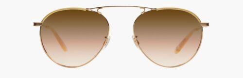 Garrett Leight 4023-55-GLE//BZSHM Innes 55 Gld Lame//Brnze Shadow Miror Sunglasses