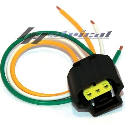 NEW REPAIR PLUG HARNESS PIGTAIL CONNECTOR 3 WIRE PIN For 6G FORD ALTERNATOR  | eBayeBay