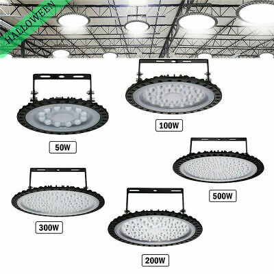 LED High Bay Light 50//100//200//300//500W Low Bay UFO Warehouse Industrial Lights