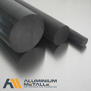 L: 150mm Kunststoffstab auf Zuschnitt POM Rundstab schwarz /Ø 12mm 15cm