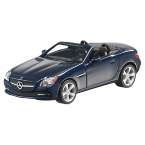 Mercedes-Benz Modellauto PKW 1:87 SLK R172 blau B66960506