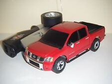 Xmods 1:28 RC Truck Evo Red NISSAN TITAN #1