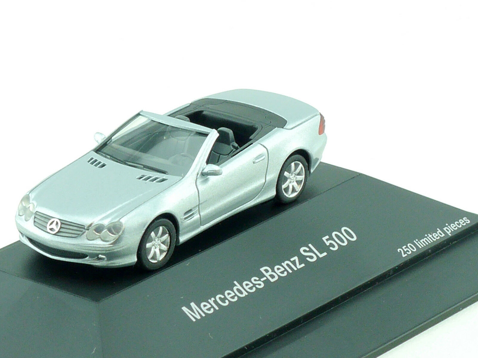 Herpa publicitaires Modèle MB Mercedes SL 500 R 230 Cabriolet seulement 250 lots  PC NEUF dans sa boîte 1411-17-17