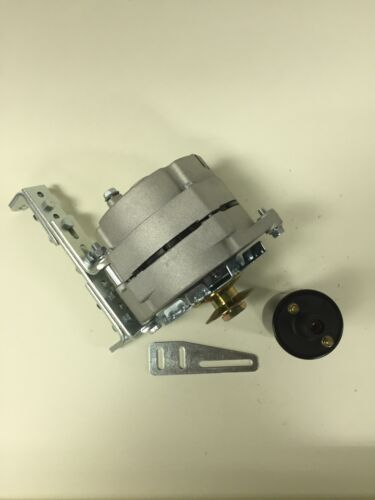 """New Willys Jeep Alternator One 1 Wire 12V 65A 5//8/"""" Pulley Bracket Coil"""