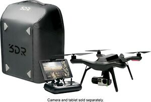 3DR-solo-drone-with-gimbal-camera-backpack-and-2-batteries