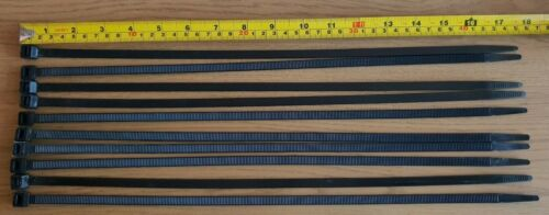 20 x 450mm x 8mm Extra Strong Long Cable Ties Heavy Duty Tie Wraps Straps