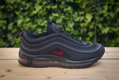 air max 97 rosso nero
