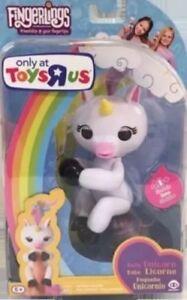 Gigi White Unicorn Monkey Fingerling Toys R Us Exclusive Fingerlings