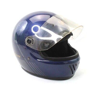1Pcs Flip Up Clear Visor Face Shield 3 Snap For Open Face Helmet Motorcycle