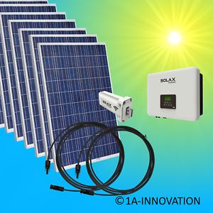 3000watt Solaranlage Komplettpaket 3 Kw Solar Anlage Hausnetzeinspeisung Plug Erneuerbare Energie