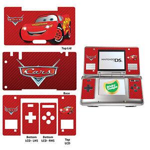 Details Zu Autos Lightning Mcqueen Vinyl Designfolie Aufkleber Für Nintendo Ds Original