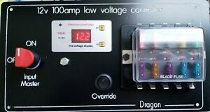 image is loading motorhome-12v-100-amp-fuse-box-with-master-