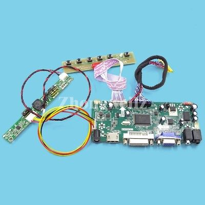 LCD LED LVDS Controller Driver Board Kit for M170ETN01.1 HDMI+DVI+VGA housing