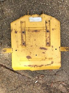 Details about ALLIS CHALMERS B1 Tractor ** FENDER DECK SEAT PAN *  Simplicity Riding Mower Part