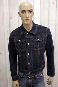 DIESEL-Uomo-Taglia-M-Giacca-Di-Jeans-Giubbotto-Giubbino-Jacket-Coat-Man-Jacke