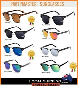 new style d5def a3186 Image is loading Party-Master-Adults-Stylish-Full-Colour-Party-Sunglasses-