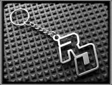 KEYRING for YAMAHA RD - STAINLESS STEEL - HAND MADE - CHAIN LOOP FOB