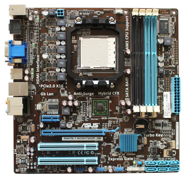 Asus M4A78LT Drivers Windows 7