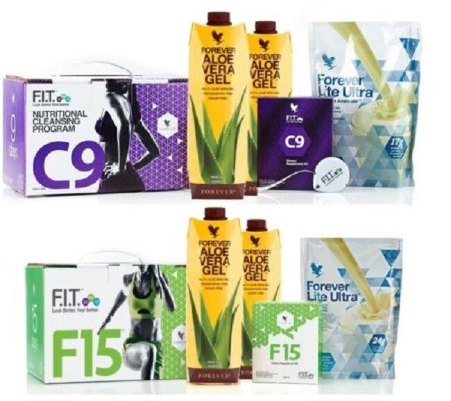Forever Living Tow Weight Loss Programs /Clean 9 Detox & Weight Loss FIT 15 s l1600