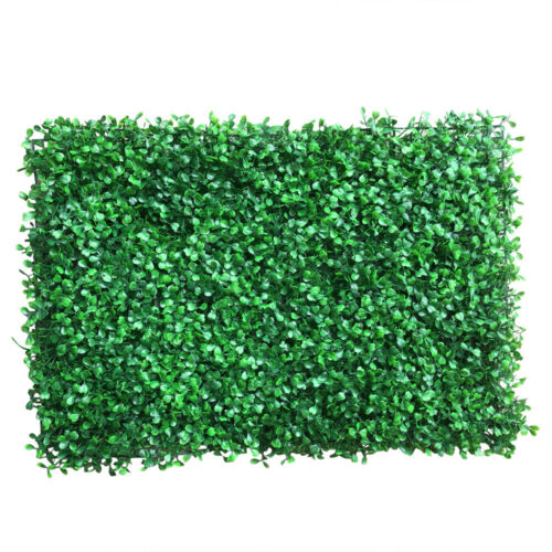 Artificial Turf Lawn Grass Mat for Indoor Outdoor Wall Background Decor 12 Pack