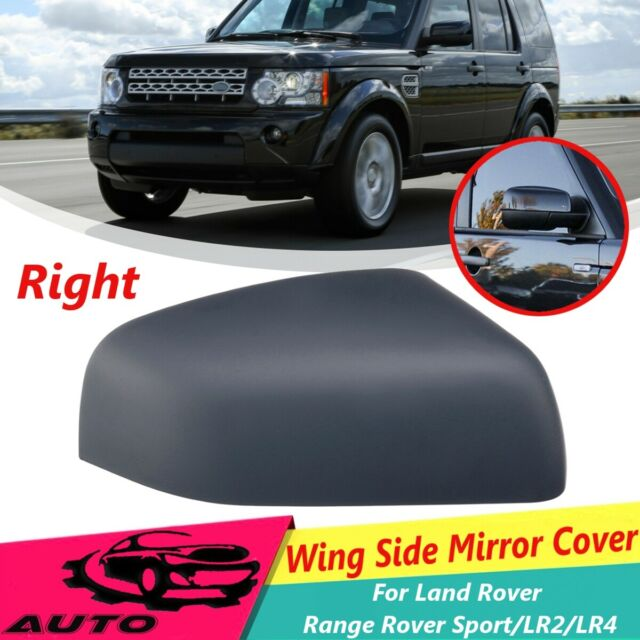 Gloss Black wing door mirror cap for Land Rover Discovery 4 LR4 cover 2010-2014