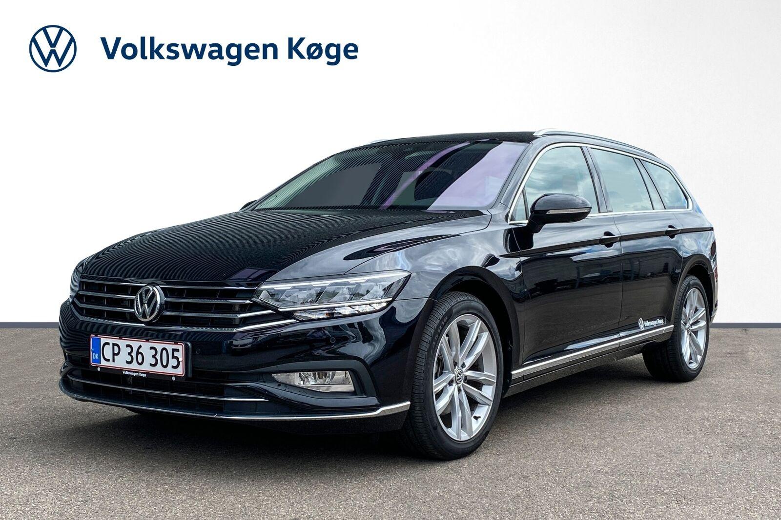 VW Passat 2,0 TDi 150 Elegance+ Variant DSG 5d - 419.900 kr.