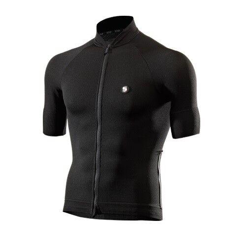 Maglia Maglietta Jersey T-shirt Bike Bici Ciclismo SIXS negro  CHROMO JERSEY