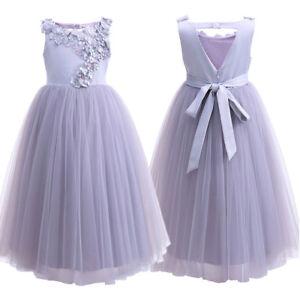 Vestiti Da Ragazza Per Cerimonia.Fiore Ragazza Tutu Vestito Per Bambini Principessa Cerimonia
