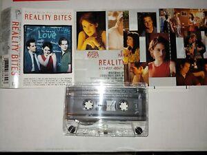 Reality Bites Soundtrack Cassette tape Ryder Stiller Garrofalo Hawke 90s
