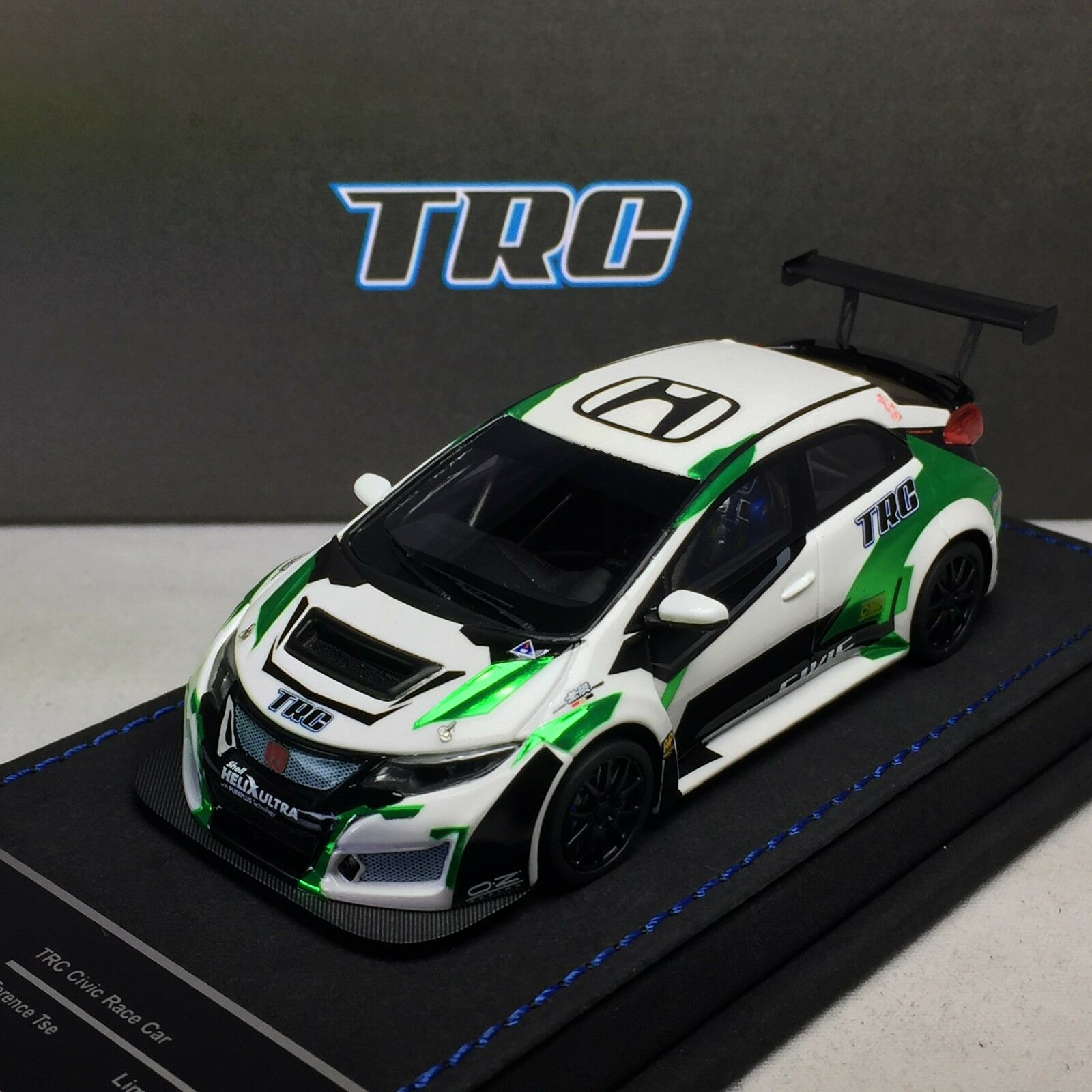 1 43 Peako Honda Civic FK2 TRC Race Car Green Terence Tsz Ltd 50 pcs