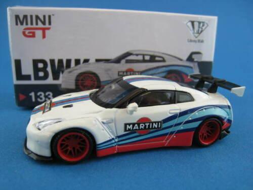 LB * WORKS Nissan GT-R Martini Racing  MINI GT  TSM MODEL Maßstab 1:64  OVP  NEU