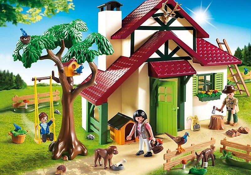 PLAYMOBIL  6811 Country - Maison forestière  pas de minimum