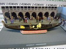 1/43 IXO altaya 007 JAMES BOND anglais n° 102 BONDOLA Gondole Venise
