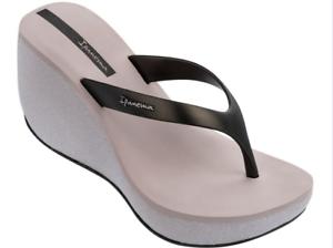 4be4f1043ae Ipanema Women`s Flip Flops Bolero II Sandal Beige Black 4
