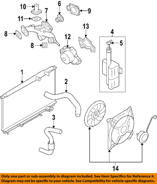 kia oem 06 10 sedona cooling system water pump outlet 256113c101 for BMW 528I Cooling System Diagram kia oem 06 10 sedona cooling system water outlet 256113c101