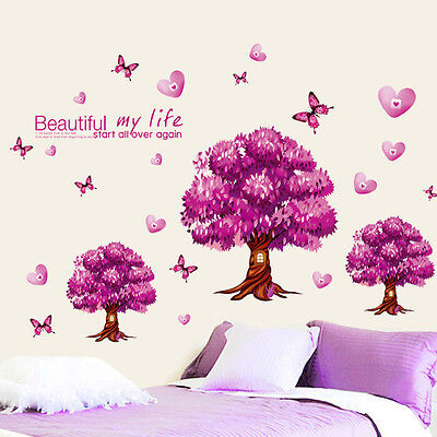 2015 Fashion Removable Decal Wealth Tree Art Mural Home Decor Room Wall Sticker