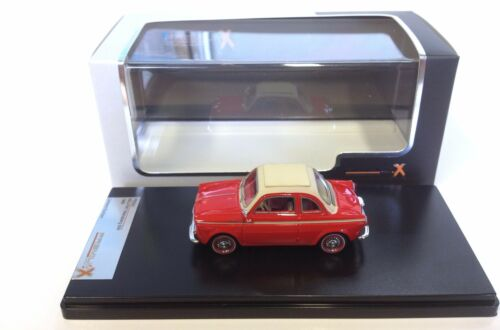 Red PREMIUM X 1:43 DIECAST MODEL CAR PR0021 Fiat 500 NSU Weinsberg 1961