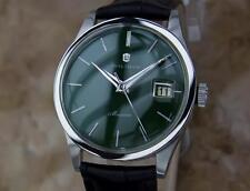 Waltham Maxim Swiss Made 1970s Men's Manual Stainless Steel Dress Watch YY17