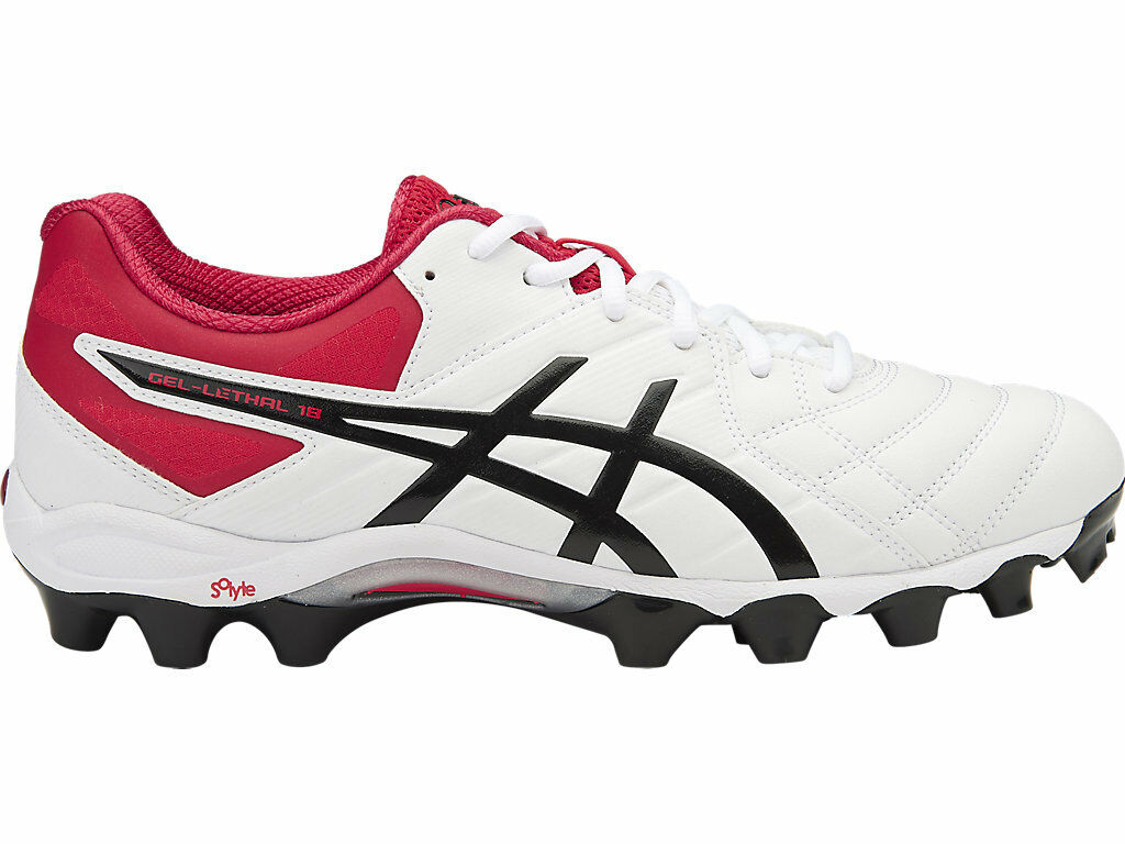 Asics Gel Lethal 18 Mens Breathable Football Boots (0190)
