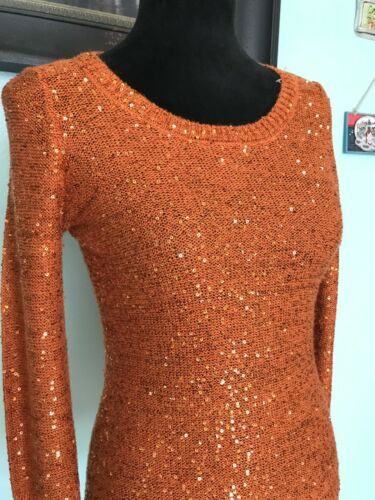 Inc Petit Paillettes à Concepts Orange International Pull 14qgaw1r