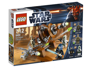 LEGO 9491 - Star Wars  The Clone Wars - Geonosian Cannon - 2012