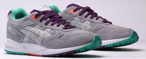 6e144ffd ASICS Men's Gel Saga Retro Running Shoe Classic Soft Grey Sneaker 9 ...