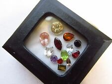 Natural Loose Mixed Faceted Gemstone Parcel Lot Hessonite Andulasite Tourmaline