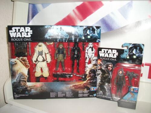 Lot de 2 figurines Moroff Multipack & Jyn Erso Star Wars Rogue / Nouveau