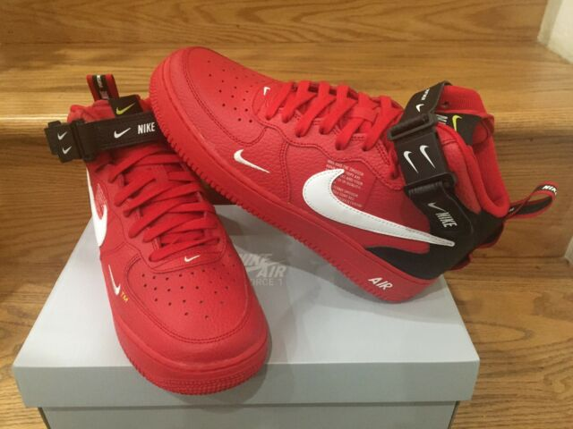 Nike Air Force 1 Mid Utility Red For Sale