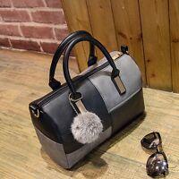 Leger Leder Shopper Damentasche Handtasche Schultertasche Damen Tasche Schwarz