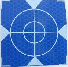 Reflex Zielmarken 60mm x 60mm,  Blau, 10 Stück, Total Station