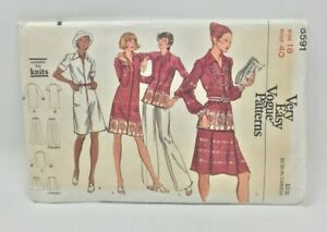 Vogue-Sewing-Pattern-8591-Very-Easy-Vogue-Misses-Dress-Shirt-Skirt-and-Pants