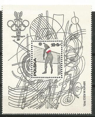 Europa Motiviert Polen Poland Scott# B132 Mnh Olympiade Montreal 1976 Perfekte Verarbeitung Polen