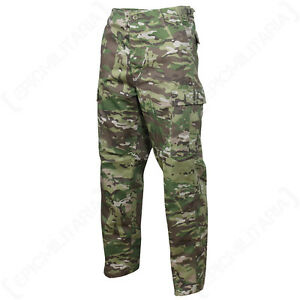 Multitarn-COMBAT-CARGO-BDU-TROUSERS-Camo-Army-Pants-Military-All-Sizes